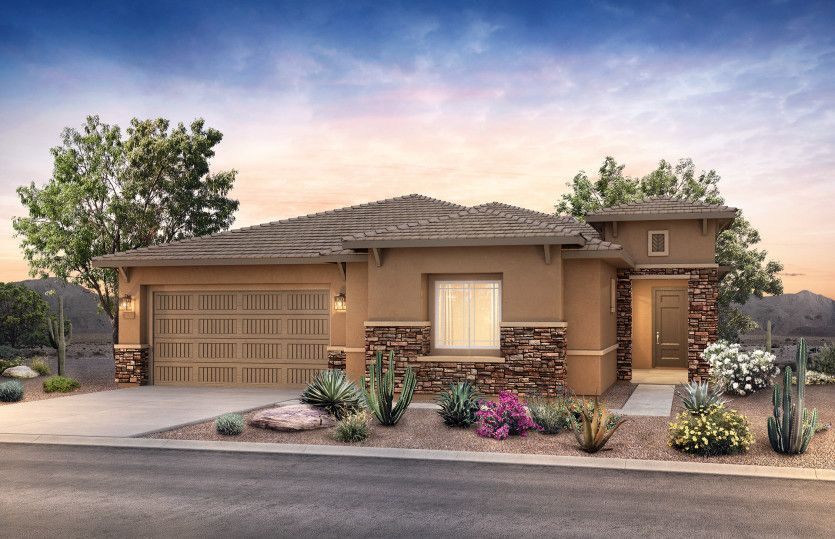 Exterior featured in the Oakside By Pulte Homes in Phoenix-Mesa, AZ