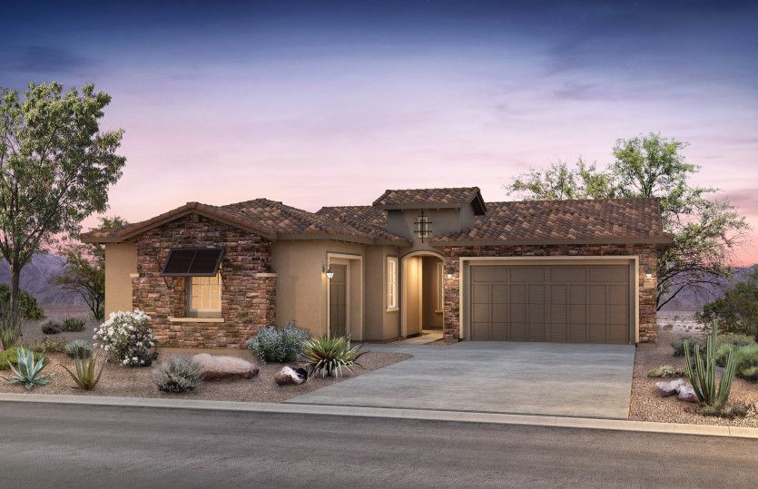 Exterior featured in the Ravenna By Pulte Homes in Phoenix-Mesa, AZ