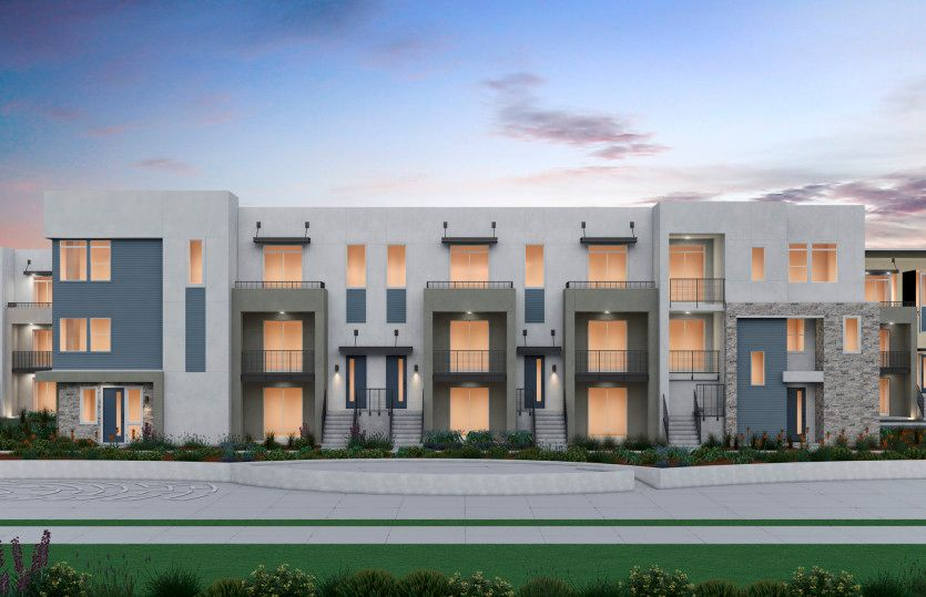 Exterior featured in the Plan 2 By Pulte Homes in Oakland-Alameda, CA