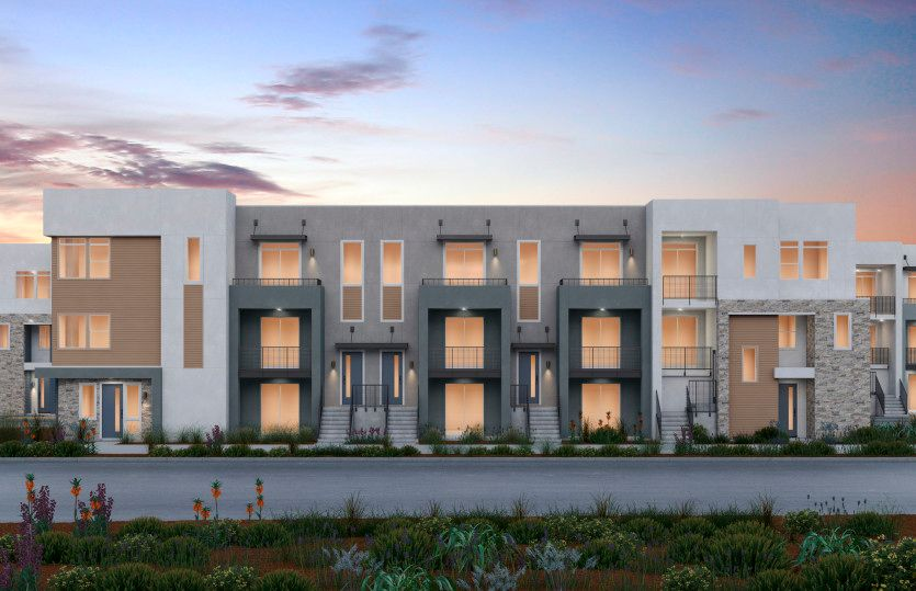 Exterior featured in the Plan 5 By Pulte Homes in Oakland-Alameda, CA