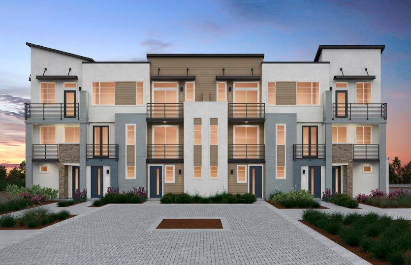 Exterior featured in the Plan 3C By Pulte Homes in Oakland-Alameda, CA