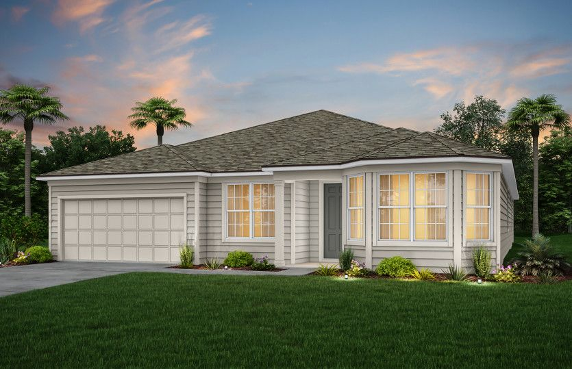 Exterior featured in the Easley By Pulte Homes in Jacksonville-St. Augustine, FL
