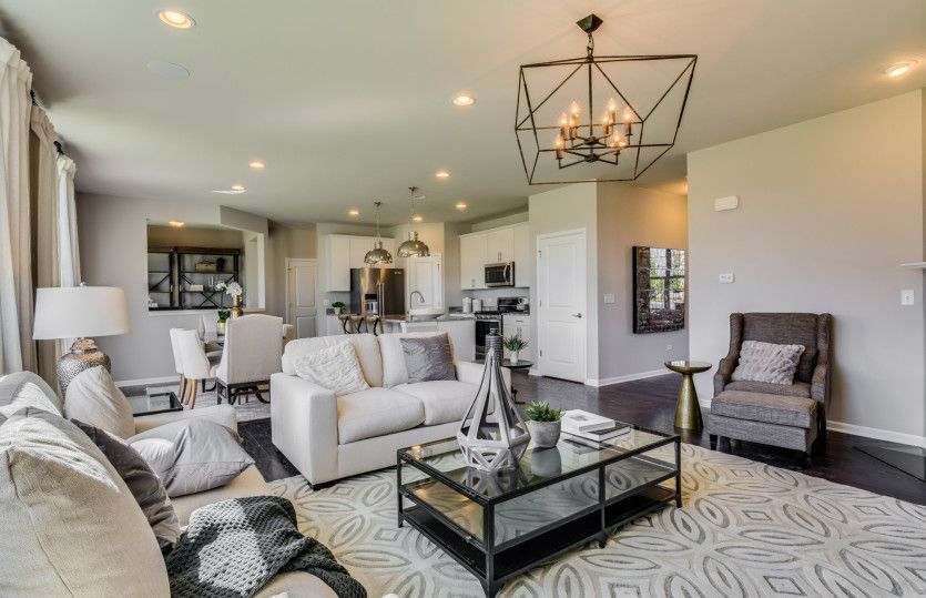 Living Area featured in the Mercer By Pulte Homes in Washington, VA