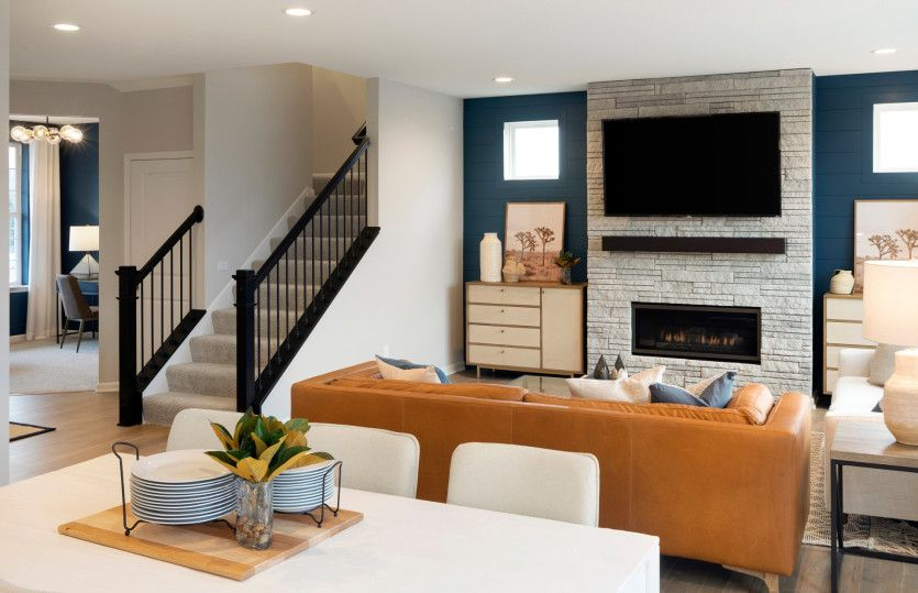 Living Area featured in the Newberry By Pulte Homes in Washington, VA