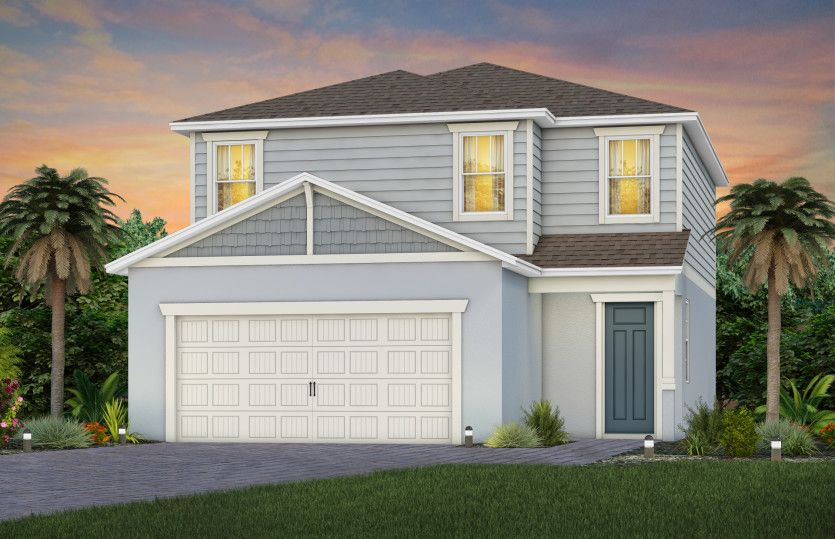 Exterior featured in the Henley By Pulte Homes in Orlando, FL