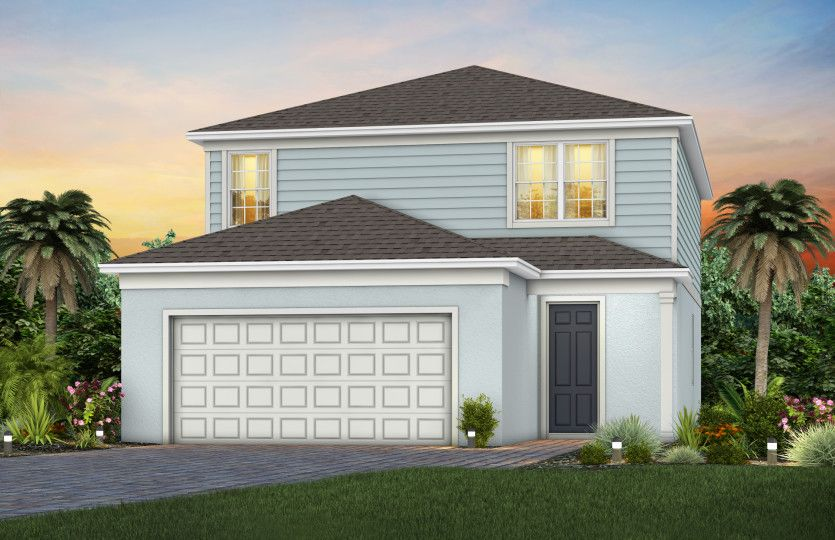 Exterior featured in the Morris By Pulte Homes in Orlando, FL