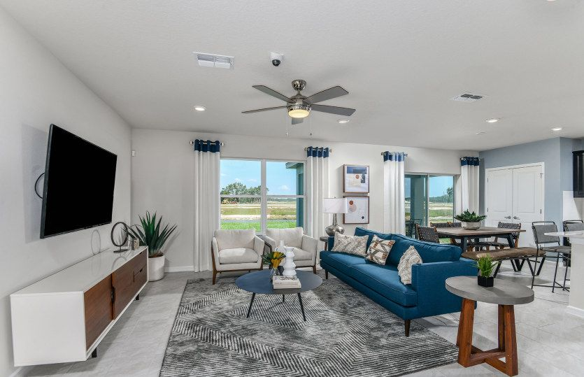 Living Area featured in the Morris By Pulte Homes in Orlando, FL