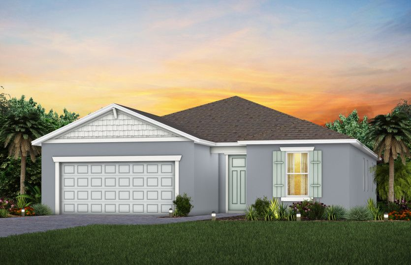 Exterior featured in the Mystique By Pulte Homes in Orlando, FL