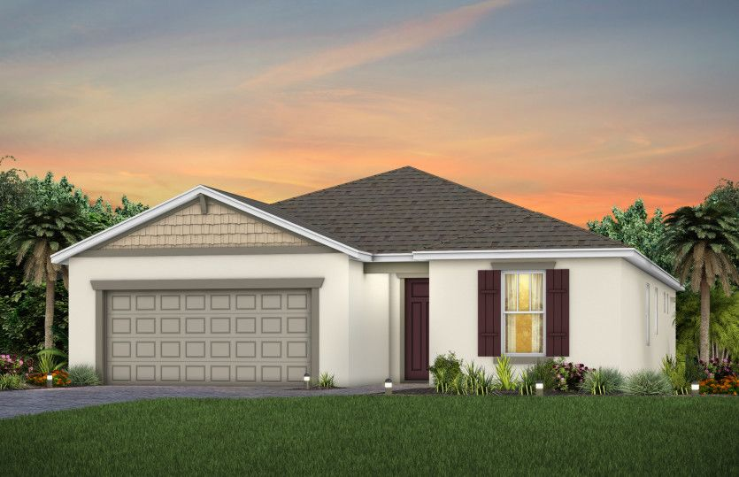 Exterior featured in the Prosperity By Pulte Homes in Orlando, FL