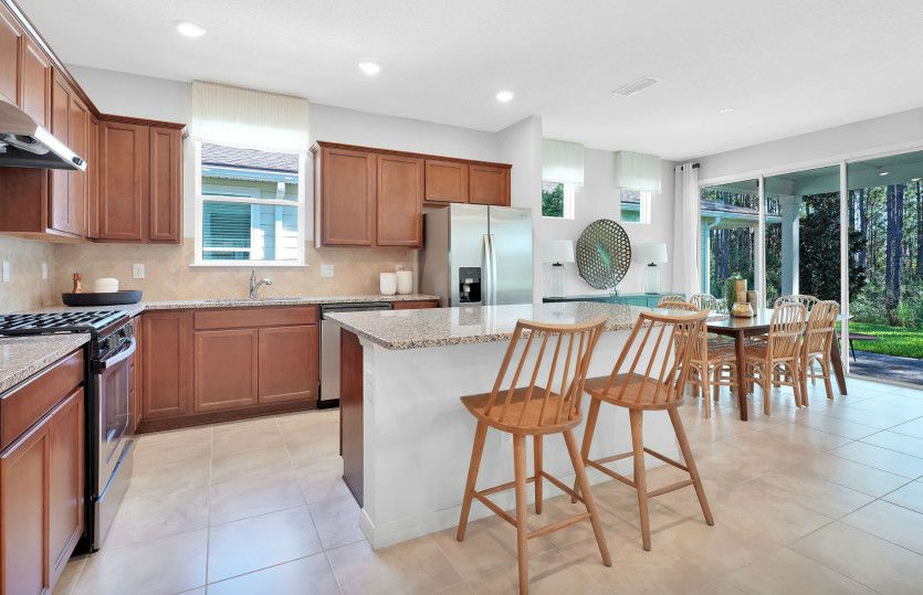 Kitchen featured in the Prosperity By Pulte Homes in Orlando, FL
