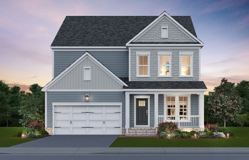 Exterior featured in the Continental By Pulte Homes in Washington, VA