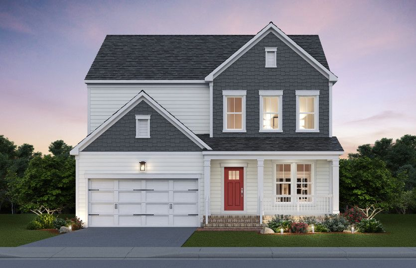 Exterior featured in the Mercer By Pulte Homes in Washington, VA
