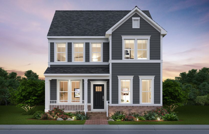 Exterior featured in the Portland By Pulte Homes in Washington, VA