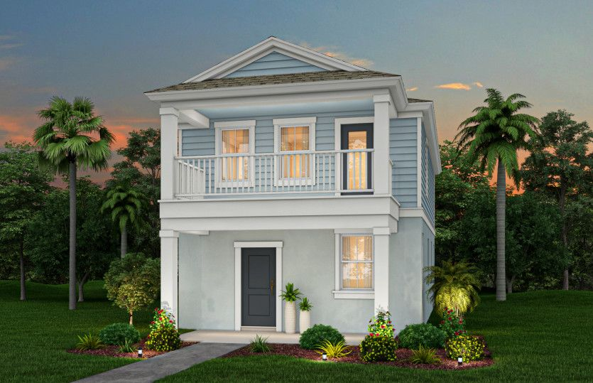 Exterior featured in the Midway By Pulte Homes in Orlando, FL
