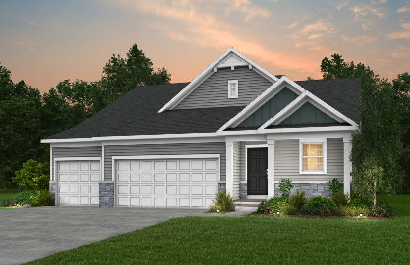 Exterior featured in the Kensington By Pulte Homes in Minneapolis-St. Paul, MN