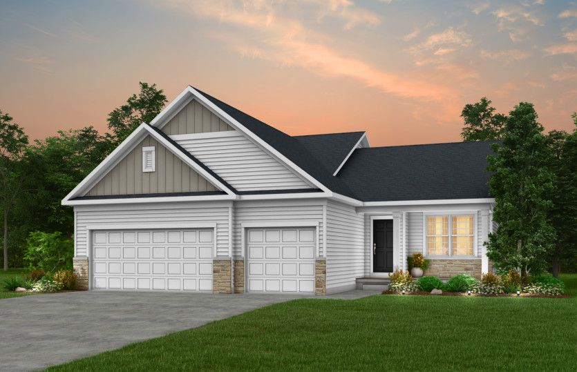 Exterior featured in the Northfield By Pulte Homes in Minneapolis-St. Paul, MN
