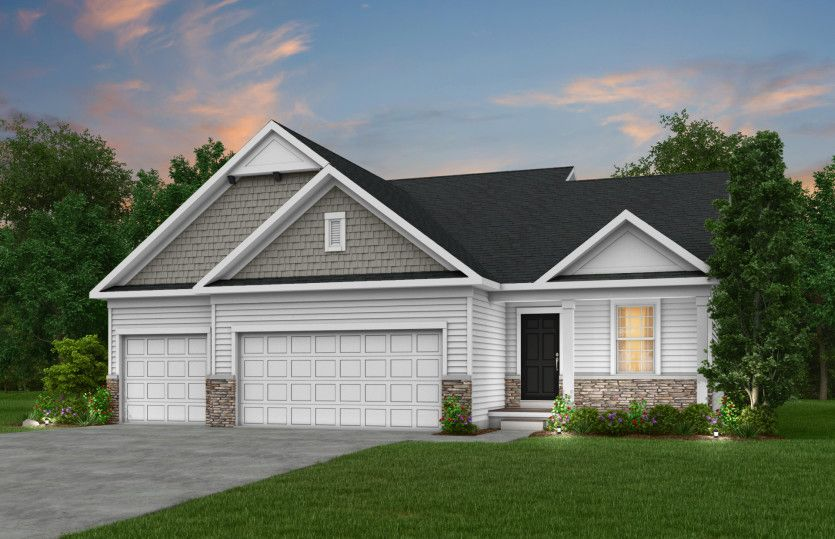 Exterior featured in the Radcliff By Pulte Homes in Minneapolis-St. Paul, MN