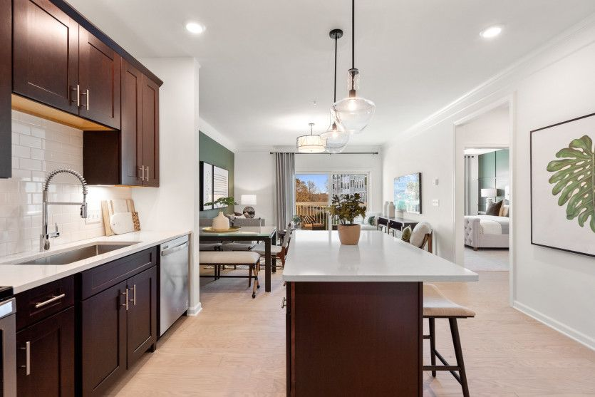 Kitchen featured in the Copley By Pulte Homes in Boston, MA