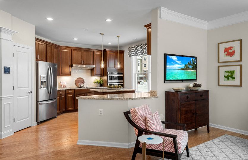 Kitchen featured in the Islebrook By Pulte Homes in Boston, MA