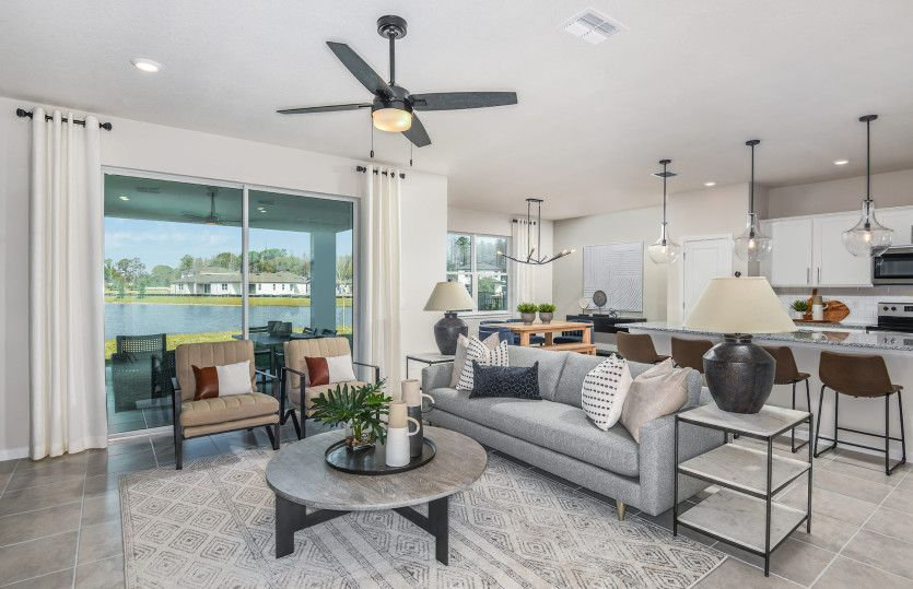 Living Area featured in the Trailside By Pulte Homes in Tampa-St. Petersburg, FL