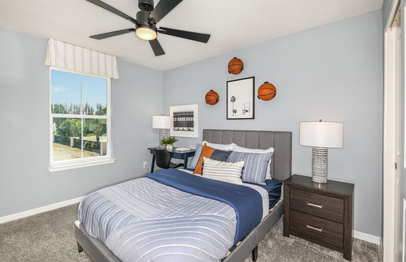 Bedroom featured in the Trailside By Pulte Homes in Tampa-St. Petersburg, FL