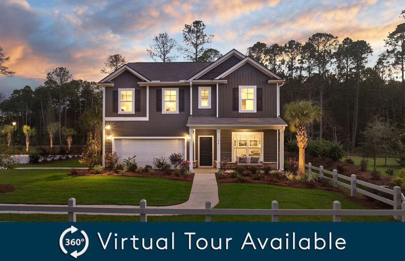 Exterior featured in the Hampton By Pulte Homes in Hilton Head, SC