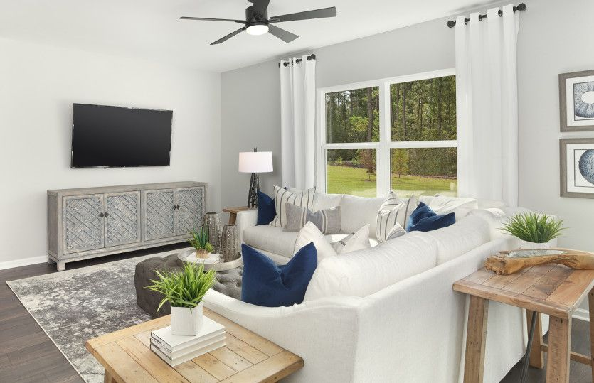 Living Area featured in the Hampton By Pulte Homes in Hilton Head, SC