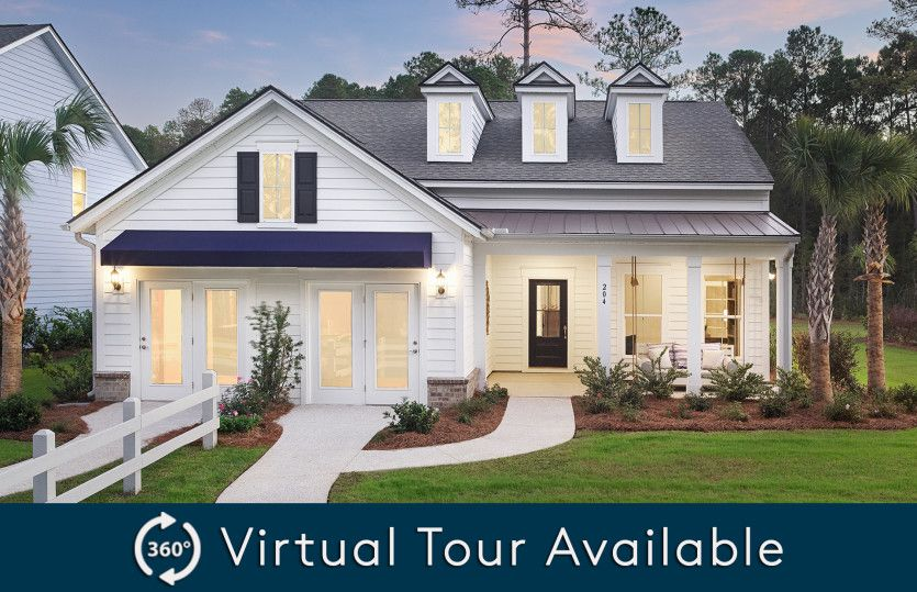 Exterior featured in the Martin Ray By Pulte Homes in Hilton Head, SC