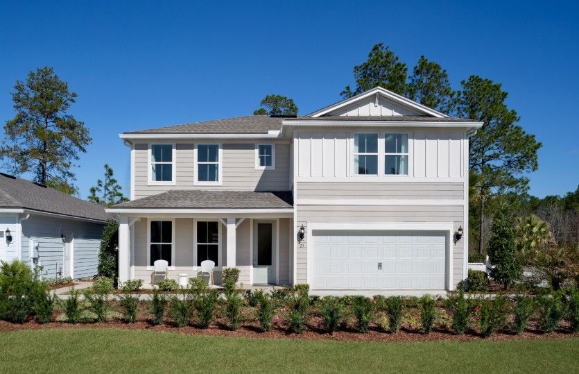 Exterior featured in the Whitestone By Pulte Homes in Jacksonville-St. Augustine, FL