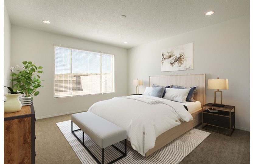 Bedroom featured in the Stella By Pulte Homes in Albuquerque, NM