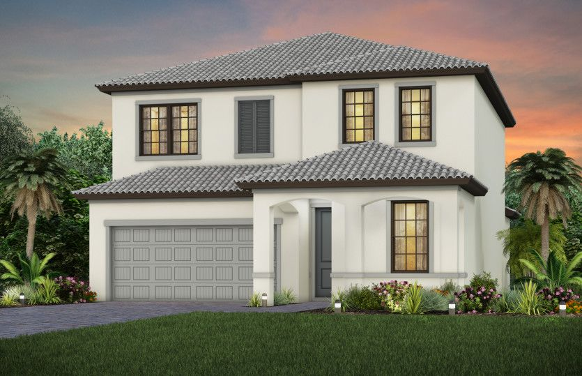Exterior featured in the Fifth Avenue By Pulte Homes in Broward County-Ft. Lauderdale, FL