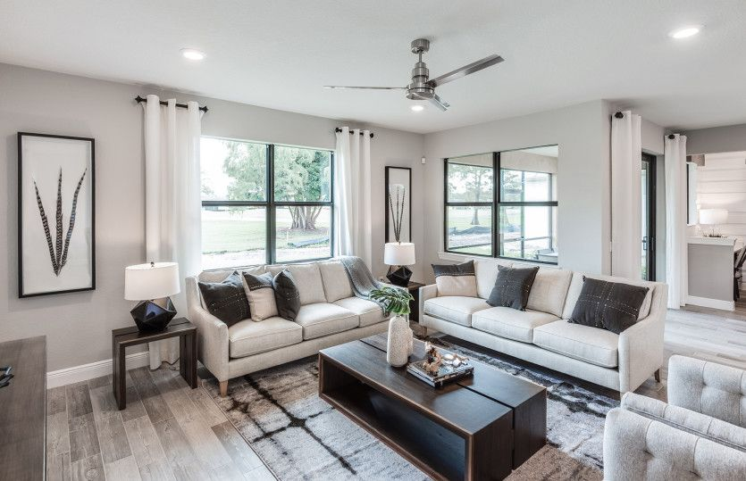 Living Area featured in the Fifth Avenue By Pulte Homes in Broward County-Ft. Lauderdale, FL