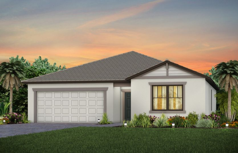 Exterior featured in the Browning By Pulte Homes in Broward County-Ft. Lauderdale, FL