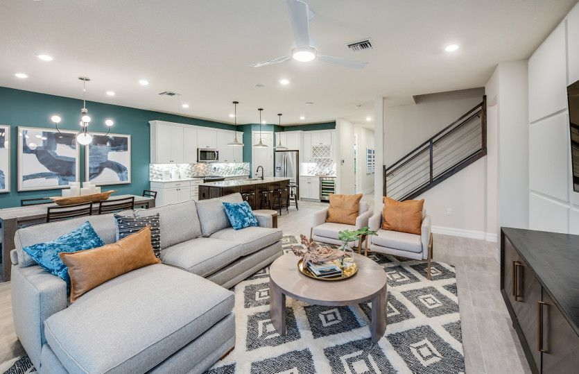 Living Area featured in the Citrus Grove By Pulte Homes in Broward County-Ft. Lauderdale, FL