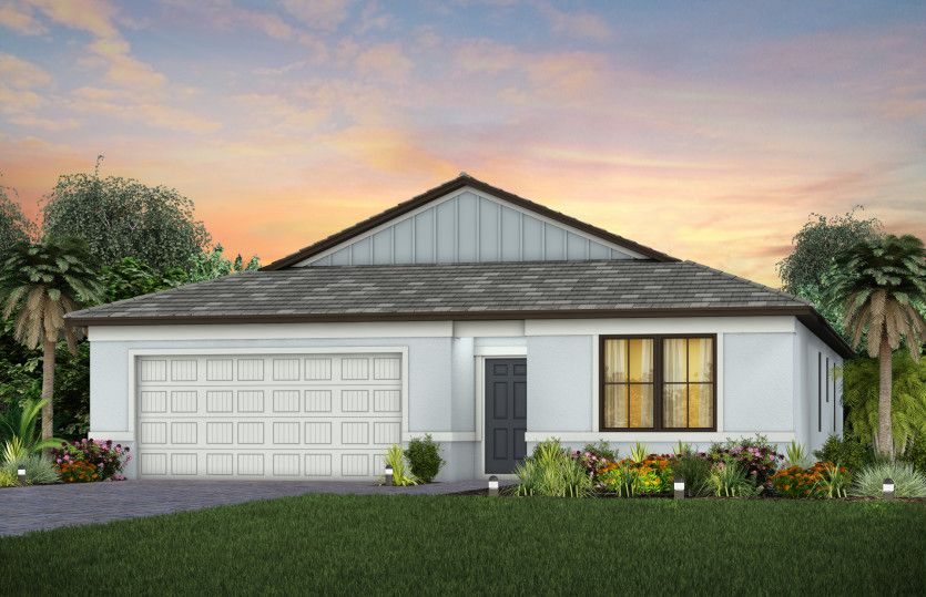 Exterior featured in the Hanover By Pulte Homes in Broward County-Ft. Lauderdale, FL
