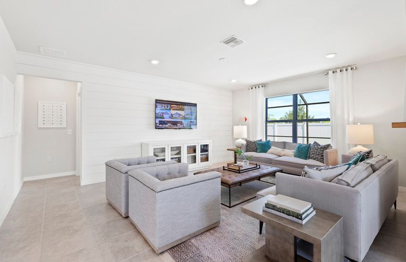 Living Area featured in the Hanover By Pulte Homes in Broward County-Ft. Lauderdale, FL