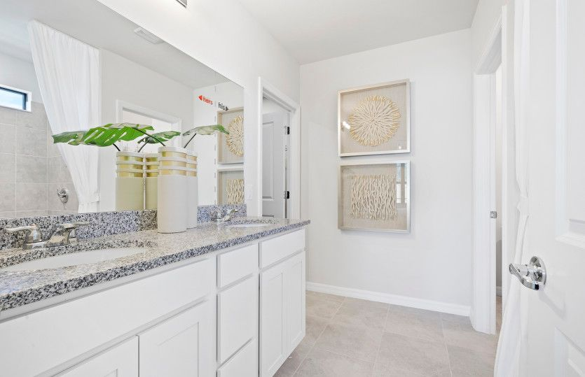 Bathroom featured in the Hanover By Pulte Homes in Broward County-Ft. Lauderdale, FL