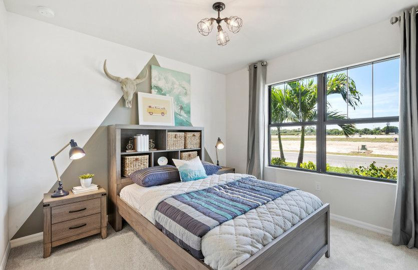 Bedroom featured in the Hanover By Pulte Homes in Broward County-Ft. Lauderdale, FL