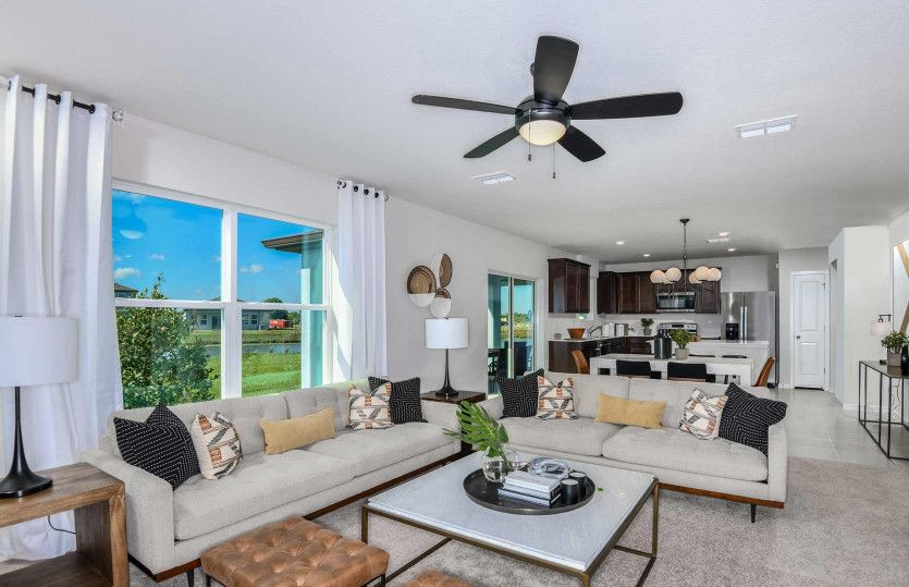 Living Area featured in the Thompson By Pulte Homes in Broward County-Ft. Lauderdale, FL