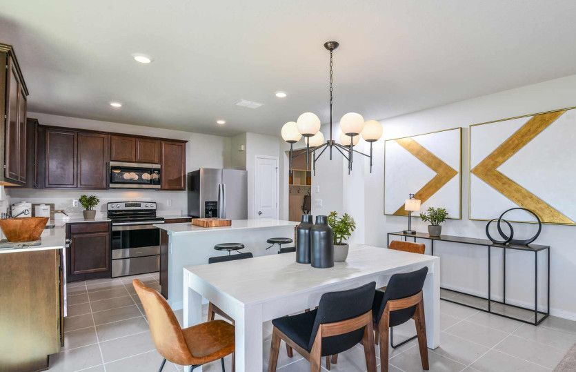 Kitchen featured in the Thompson By Pulte Homes in Broward County-Ft. Lauderdale, FL