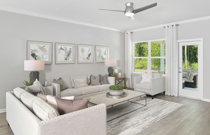 Living Area featured in the Compton By Pulte Homes in Wilmington, NC