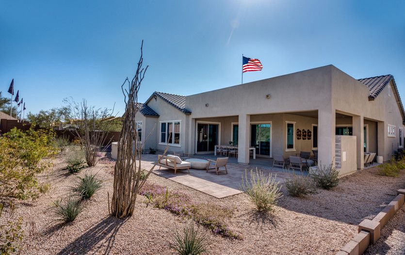 Exterior featured in the Virtue By Pulte Homes in Phoenix-Mesa, AZ