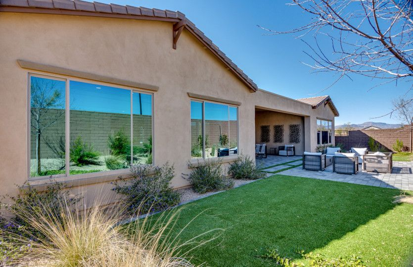 Exterior featured in the Dignitary By Pulte Homes in Phoenix-Mesa, AZ