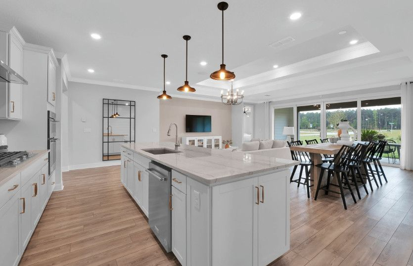 Kitchen featured in the Ashby By Pulte Homes in Jacksonville-St. Augustine, FL