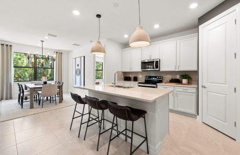 Kitchen featured in the Cedar By Pulte Homes in Naples, FL