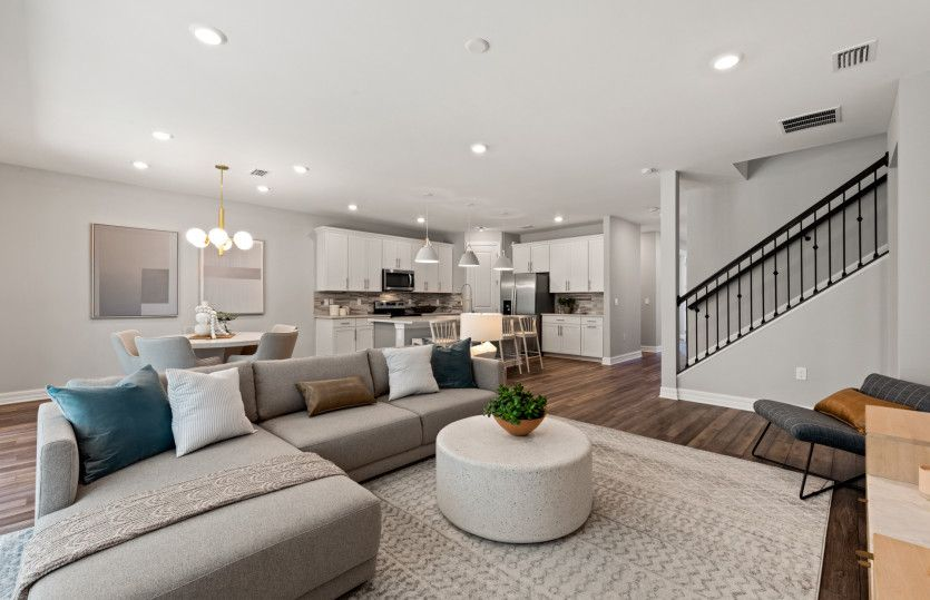 Living Area featured in the Whitestone By Pulte Homes in Naples, FL