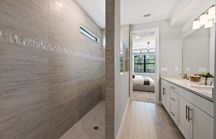 Bathroom featured in the Whitestone By Pulte Homes in Naples, FL
