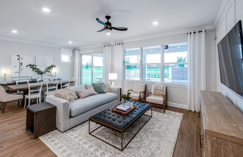 Living Area featured in the Palmary By Pulte Homes in Cleveland, OH