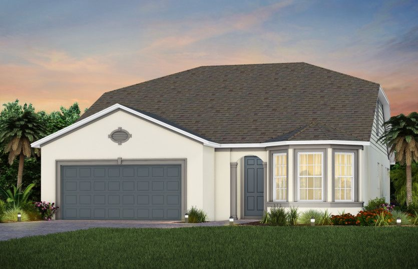 Exterior featured in the Mainstay Grand By Pulte Homes in Orlando, FL