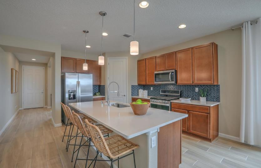 Kitchen featured in the Hewitt By Pulte Homes in Albuquerque, NM